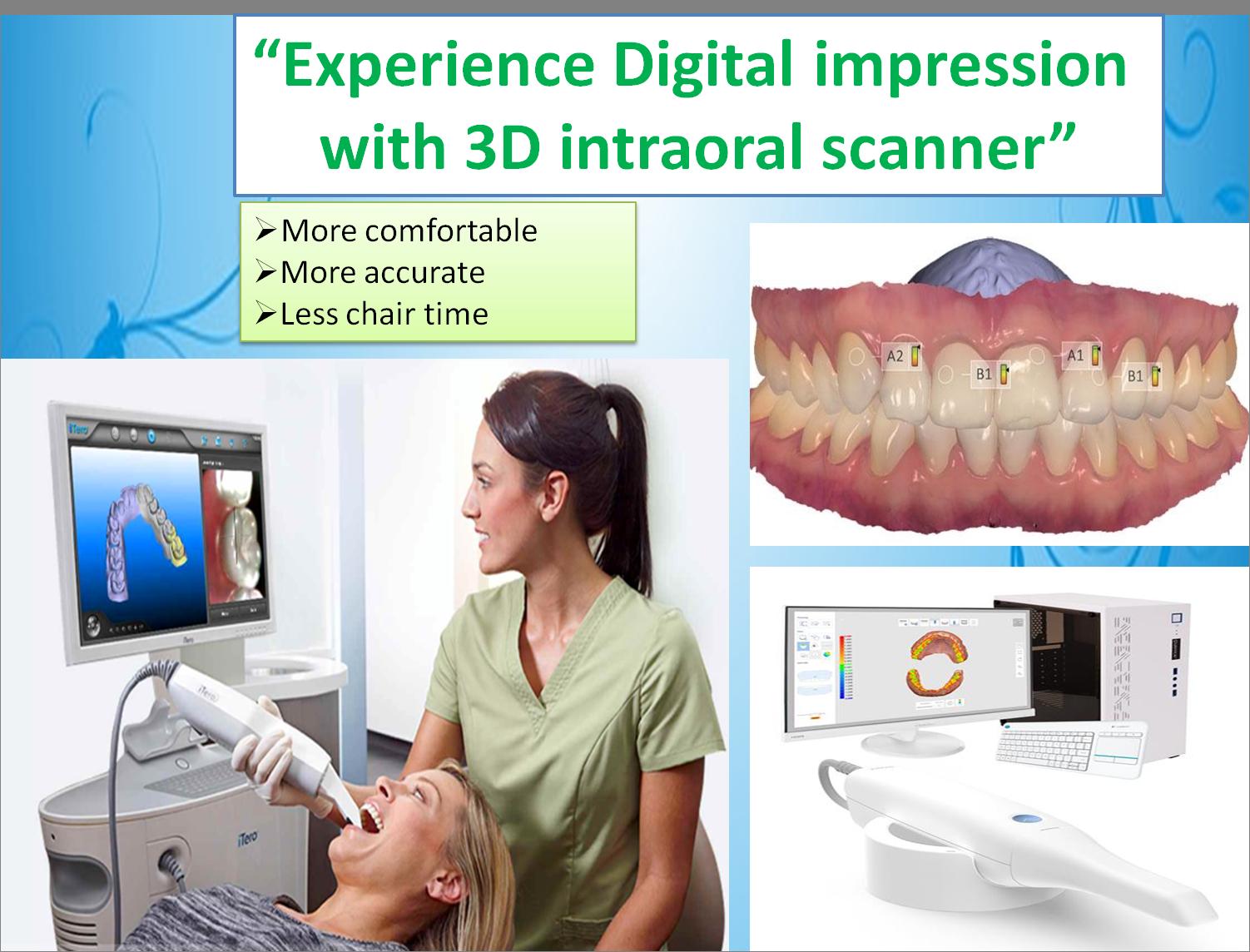 digital dental impression in chennai